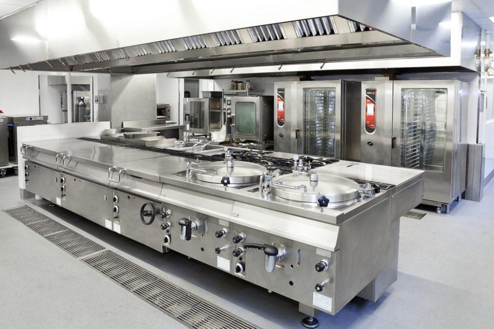 Industrial kitchen equipment